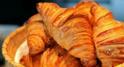 Croissant - Lamandine.co.uk - L'Amandine Coffee Shop