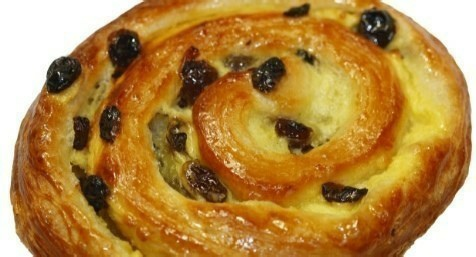 Pain aux Raisins - Lamandine.co.uk - L'Amandine Coffee Shop