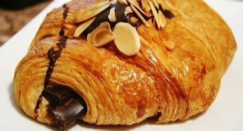 Chocolate & Almond Croissant - Lamandine.co.uk - L'Amandine Coffee Shop